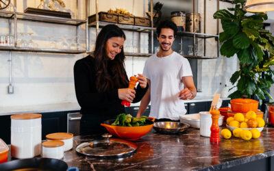 Reinforcing marital bonds at home